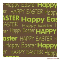 Kleine Transferfolie Happy Easter