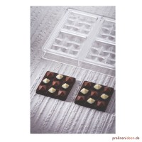 Schokoladentafel-Form Mini Moulin (PC5014)