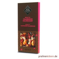 100g Tafel Cluizel Framboise 72%