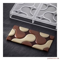 Schokoladentafel-Form Flow (PC5007)