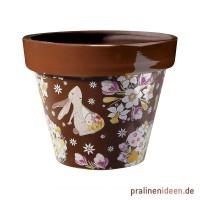 Transferfolie für Gießform Blumentopf Osterhase