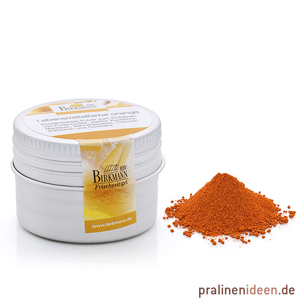 Lebensmittel-Pulverfarbe Orange
