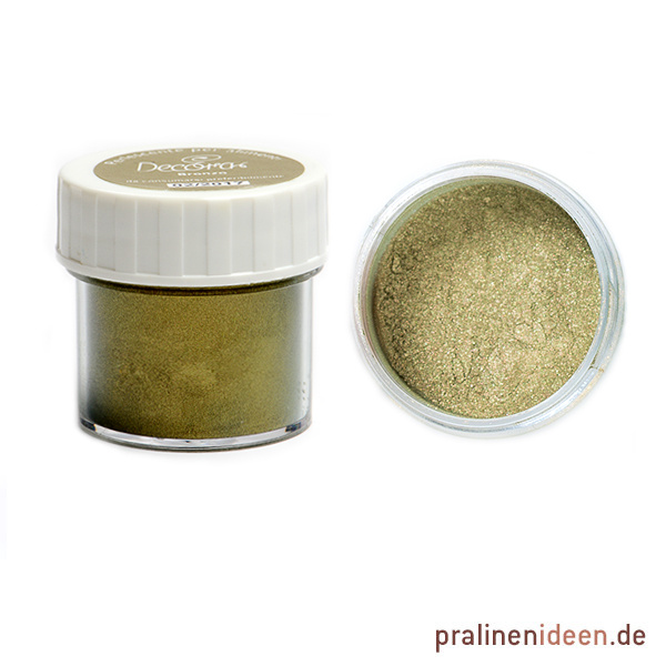 Metallic-Lebensmittel-Pulverfarbe Decora Bronze 3g