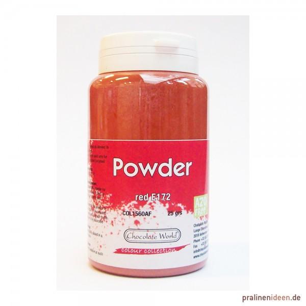 Lebensmittel-Pulverfarbe CW Rot 25g