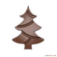 Schokoladentafel-Form Weihnachtsbaum (CW12008)
