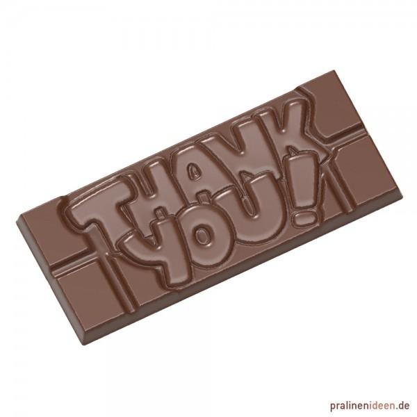 Schokoladentafel-Form Thank You (CW12004)