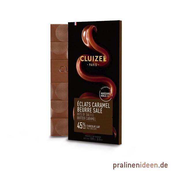 100g Tafel Cluizel LAIT Eclats Caramel