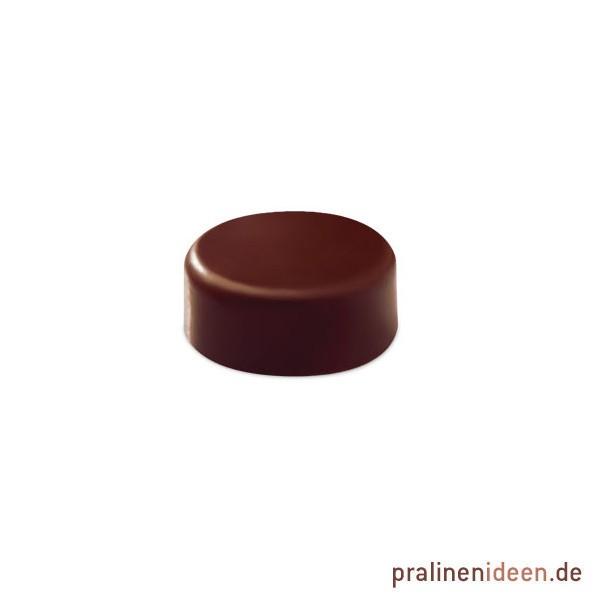 Pralinenform matt rund ohne Vertiefung (PC113)