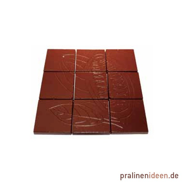 Schokoladentafel-Form Kakaofrucht 9-teilig (14054)