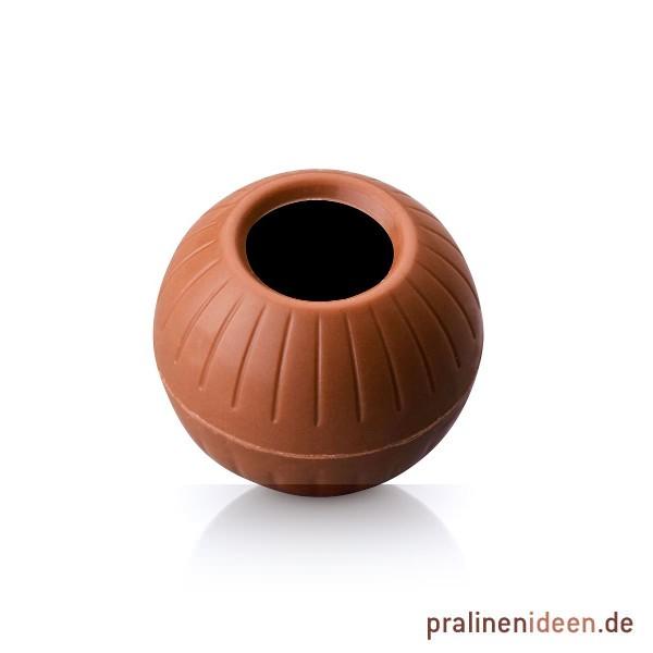 Maxi-Pralinenhohlkugeln Vollmilch, 1 Lage mit 54 Stück