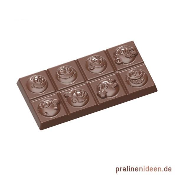 Schokoladentafel-Form Smiley (CW1589)