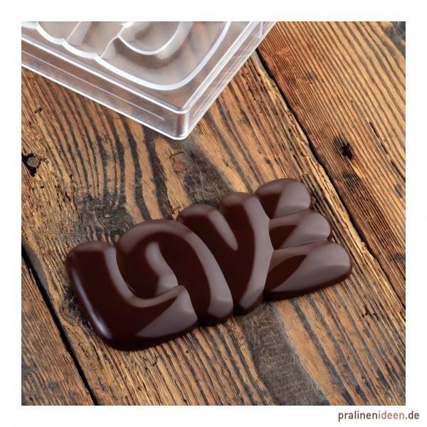 Schokoladentafel-Form Lovely (PC5000)