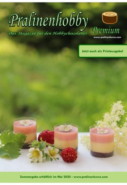 Zeitschrift Pralinenmagazin Sommerausgabe 2020