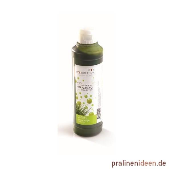 200g Kakaobutterfarbe Gerstengras grün (Natur)