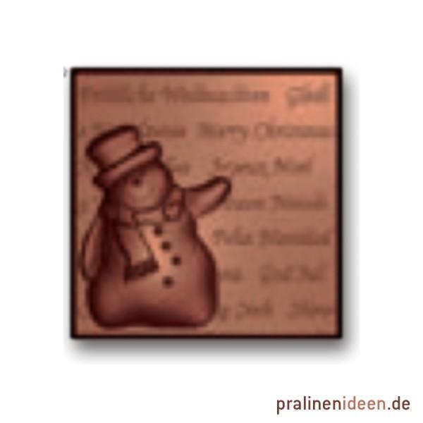 Kleine Tafelform mit Schneemann (16033)