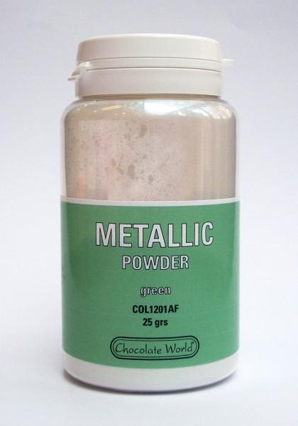 Metallic-Pulverfarbe CW Samtgrün 25g