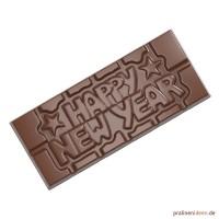 Schokoladentafel-Form Happy New Year (CW12026)