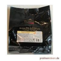 1kg Valrhona-Kuvertüre Dulcey weiß 32%