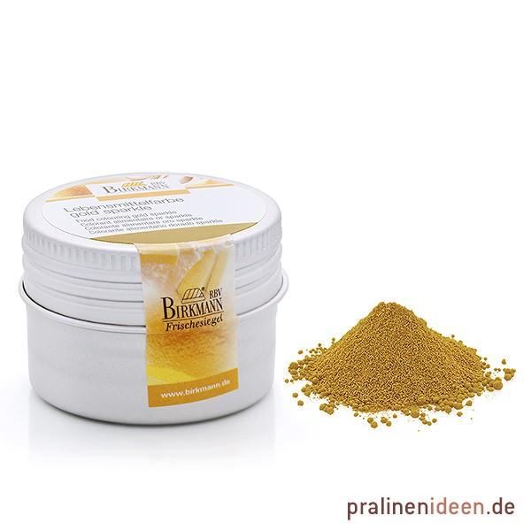 Lebensmittel-Pulverfarbe Gold