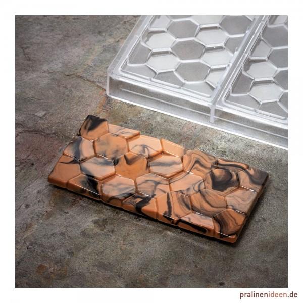 Schokoladentafel-Form Wabe (PC5006)