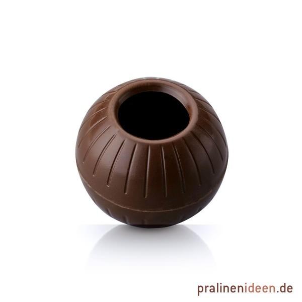 Maxi-Pralinenhohlkugeln Zartbitter, 1 Lage mit 54 Stück
