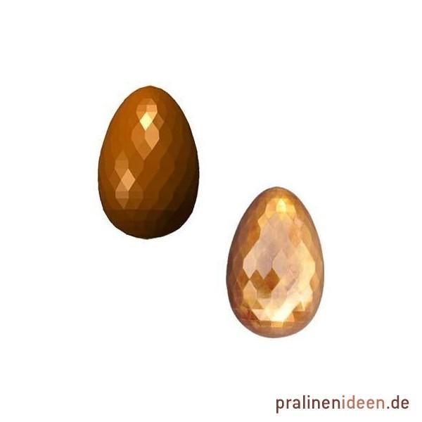 Pralinenform großes Diamant-Ei 75mm