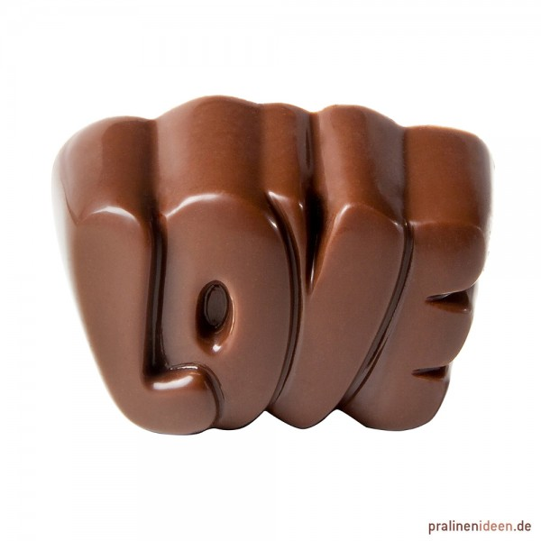 Pralinenform LOVE (CW1744)