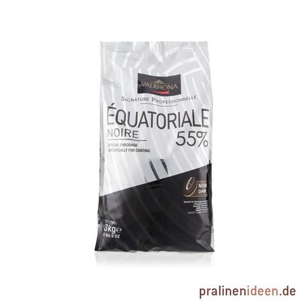 3kg Valrhona-Kuvertüre Equatoriale Noire