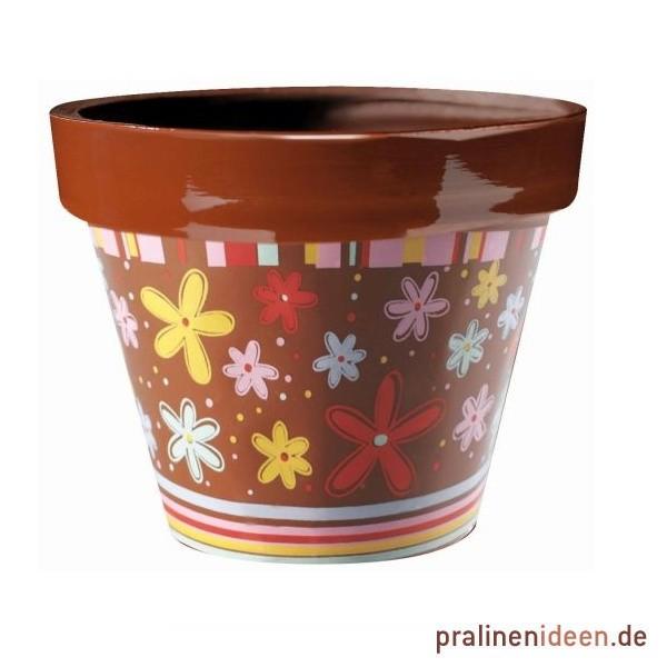 Transferfolie für Gießform Blumentopf Blumen